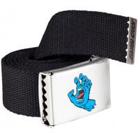 Acessórios Homem Cinto Santa Cruz Screaming mini hand belt Preto