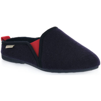 Sapatos Homem Chinelos Grunland NAVY ADRI Blu