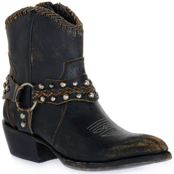 Sapatos Mulher Botins Mezcalero DANIA STONE MOKA Beige