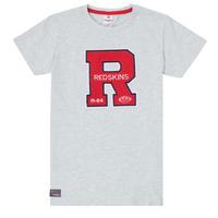Textil Rapaz T-Shirt mangas curtas Redskins TSMC180161-BLENDED-GREY Cinza