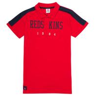 Textil Rapaz Polos mangas curta Redskins PO180117-RED Vermelho