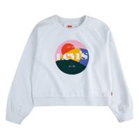Textil Rapariga Sweats Levi's 3ED410-001 Branco