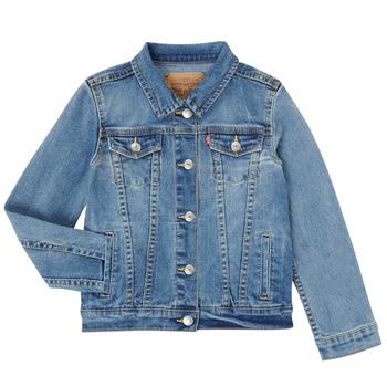 Textil Rapariga casacos de ganga Levi's 3E4388-M0K Azul