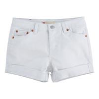 Textil Rapariga Shorts / Bermudas Levi's 4E4536-001 Branco