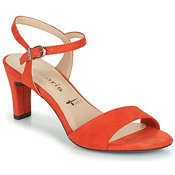 Sapatos Mulher Sandálias Tamaris MELIAH Vermelho