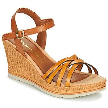 Sapatos Mulher Sandálias Tamaris SLOB Conhaque