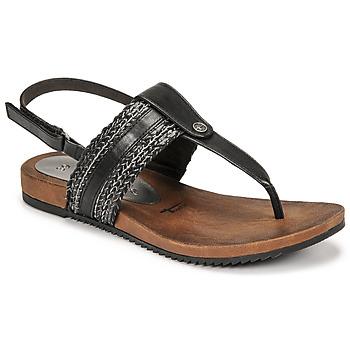 Sapatos Mulher Sandálias Tamaris LOCUST Preto