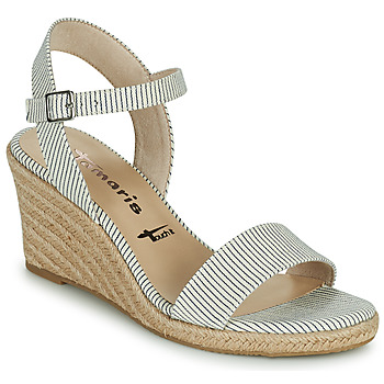 Sapatos Mulher Sandálias Tamaris LIVIAN Marinho / Branco