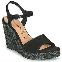 Sapatos Mulher Sandálias Tamaris CYNARA Preto