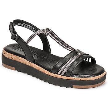 Sapatos Mulher Sandálias Tamaris BENNA Preto