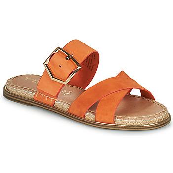 Sapatos Mulher Chinelos Tamaris LIDYA Laranja
