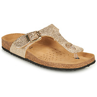 Sapatos Mulher Chinelos Geox D BRIONIA B Ouro