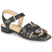 Sapatos Mulher Sandálias Geox D WISTREY SANDALO C Preto
