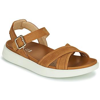 Sapatos Mulher Sandálias Geox D XAND 2S B Conhaque