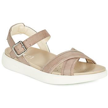 Sapatos Mulher Sandálias Geox D XAND 2S B Bege