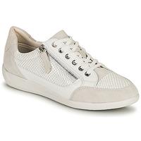 Sapatos Mulher Sapatilhas Geox D MYRIA A Branco