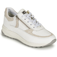 Sapatos Mulher Sapatilhas Geox D AIRELL A Branco / Bege
