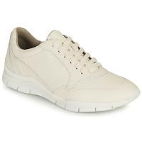 Sapatos Mulher Sapatilhas Geox D SUKIE A Branco