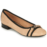 Sapatos Mulher Sabrinas Geox D WISTREY D Bege / Preto