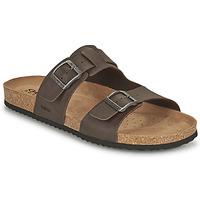 Sapatos Homem Chinelos Geox U SANDAL GHITA B Castanho