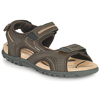 Sapatos Homem Sandálias desportivas Geox UOMO SANDAL STRADA D Castanho / Bege