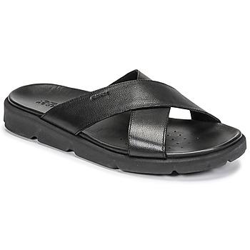 Sapatos Homem Sandálias Geox U XAND 2S C Preto