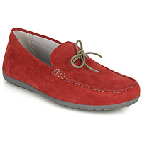 Sapatos Homem Mocassins Geox U TIVOLI A Vermelho