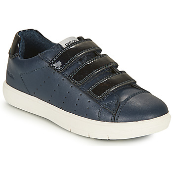 Sapatos Rapariga Sapatilhas Geox SILENEX GIRL Marinho