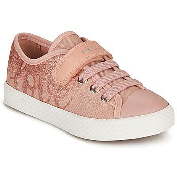 Sapatos Rapariga Sapatilhas Geox JR CIAK GIRL Rosa