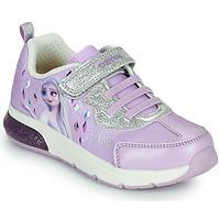 Sapatos Rapariga Sapatilhas Geox SPACECLUB GIRL Violeta