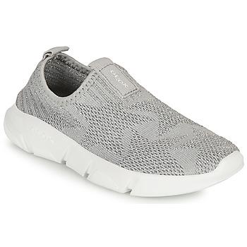 Sapatos Rapariga Slip on Geox ARIL GIRL Cinza