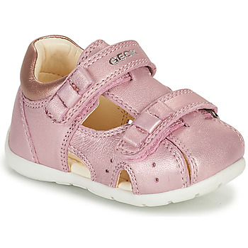 Sapatos Rapariga Sandálias Geox KAYTAN Rosa