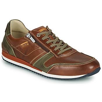 Sapatos Homem Sapatilhas Pikolinos LIVERPOOL M2A Castanho