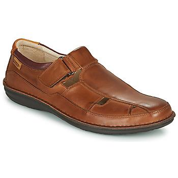 Sapatos Homem Sandálias Pikolinos SANTIAGO M8M Castanho