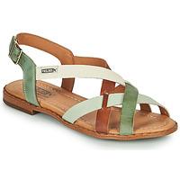 Sapatos Mulher Sandálias Pikolinos ALGAR W0X Castanho / Verde