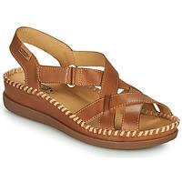 Sapatos Mulher Sandálias Pikolinos CADAQUES W8K Castanho