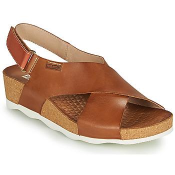 Sapatos Mulher Sandálias Pikolinos MAHON W9E Castanho
