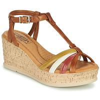 Sapatos Mulher Sandálias Pikolinos MIRANDA W2F Castanho