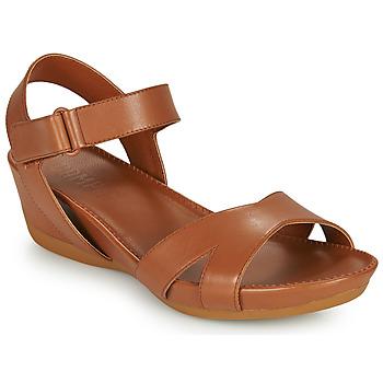 Sapatos Mulher Sandálias Camper MICRO Castanho