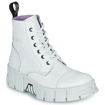 Sapatos Botas baixas New Rock M-WALL005-C1 Branco