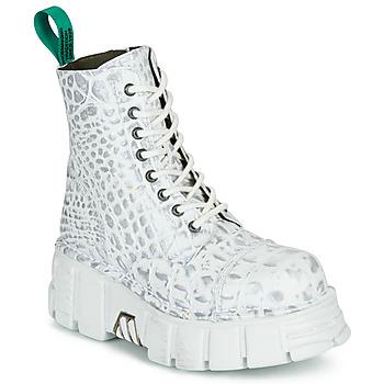 Sapatos Botas baixas New Rock M-MILI083C-V9 Branco