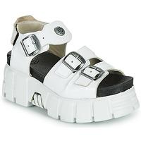 Sapatos Mulher Sandálias New Rock M-BIOS101-C3 Branco