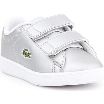 Sapatos Criança Sapatilhas Lacoste Carnaby EVO 317 6 SPI 7-34SPI0006334 silver