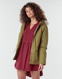 Textil Mulher Casacos Deeluxe LINA Cáqui