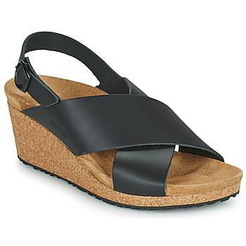 Sapatos Mulher Sandálias Papillio SAMIRA RING BUCKLE Preto