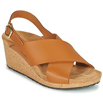Sapatos Mulher Sandálias Papillio SAMIRA RING BUCKLE Castanho
