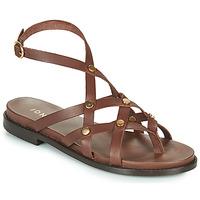 Sapatos Mulher Sandálias Jonak WHITNEY Castanho