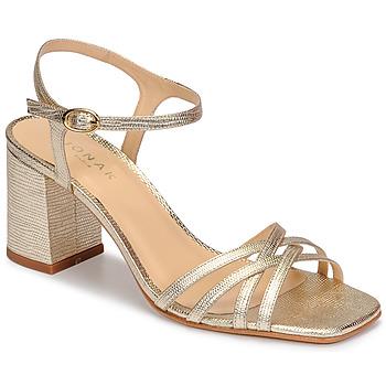 Sapatos Mulher Sandálias Jonak VICTORINE Ouro