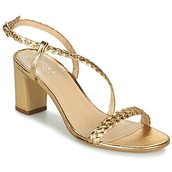 Sapatos Mulher Sandálias Jonak VAEMIS Ouro