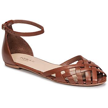 Sapatos Mulher Sandálias Jonak DOO Castanho